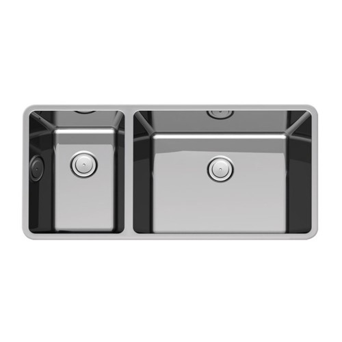 Corsica 790mm Double Bowl Inset Sink