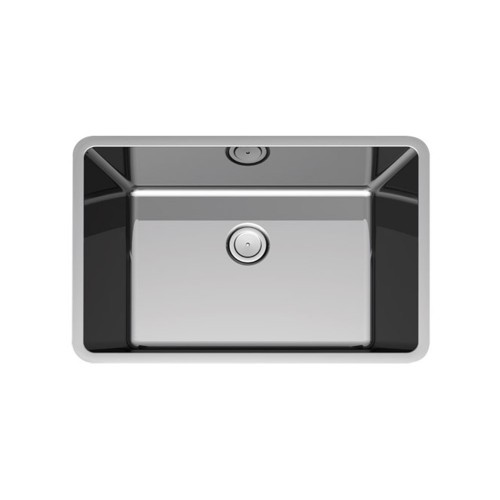 Paco Jaanson Corsica 585mm Sgl Bowl Undermount Sink