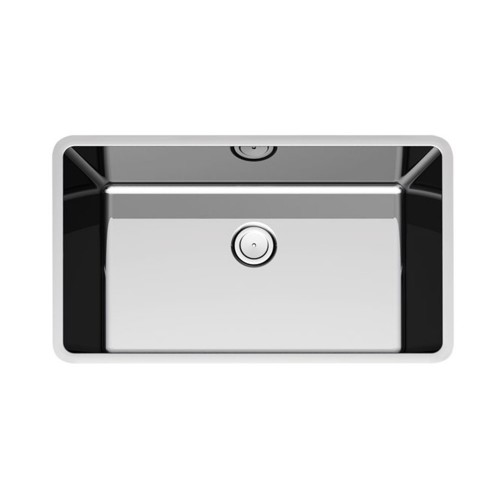 Paco Jaanson Corsica 790mm Sgl Bowl Undermount Sink