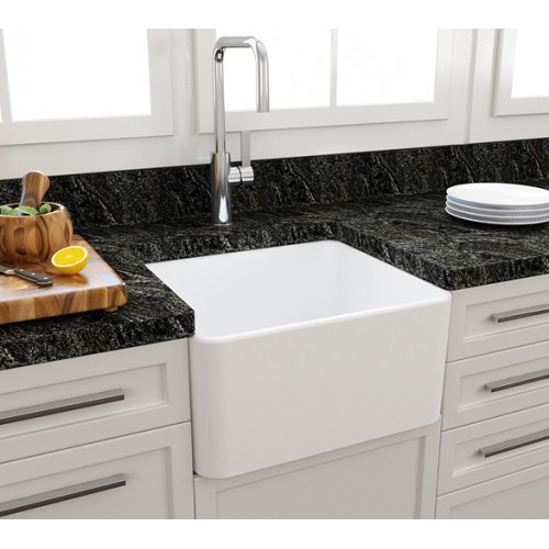 Paco Jaanson Casa 500mm Ceramic Kitchen Sink/Matte White