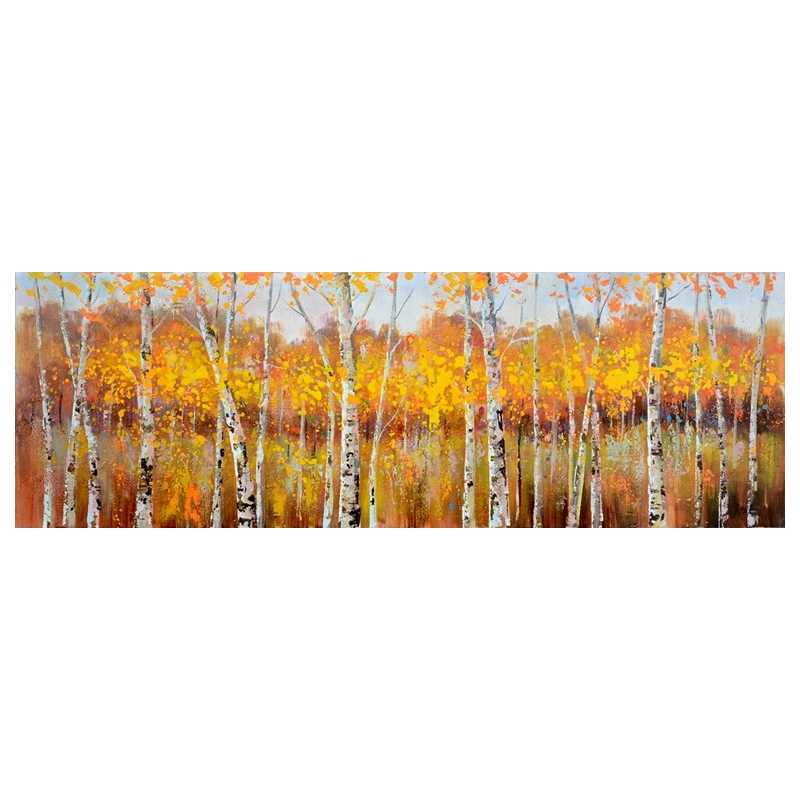 Amber Song Canvas Painting