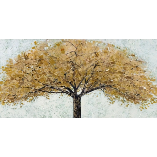Amber Silouette Canvas Painting