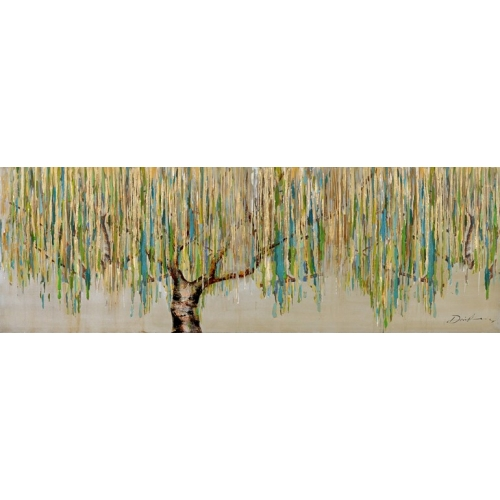 Weeping Willow Canvas Painting