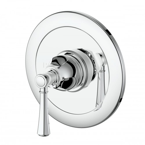 Polaro Shower Bath Mixer/Brushed Nickel