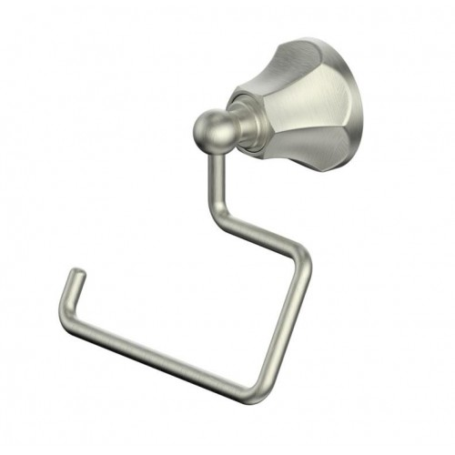 Polaro Toilet Roll Holder/Brushed Nickel