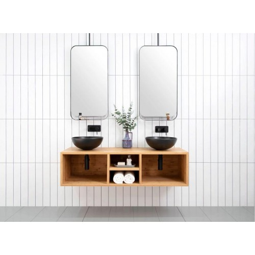 ADP Hilton 1500 Double Bowl Wall Hung Vanity