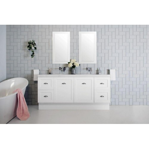Madison 1800mm Double Bowl Floor Vanity
