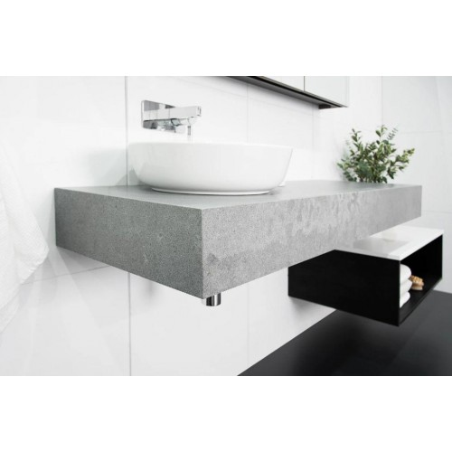 Michel 1500mm Left Offset Wall Hung Vanity