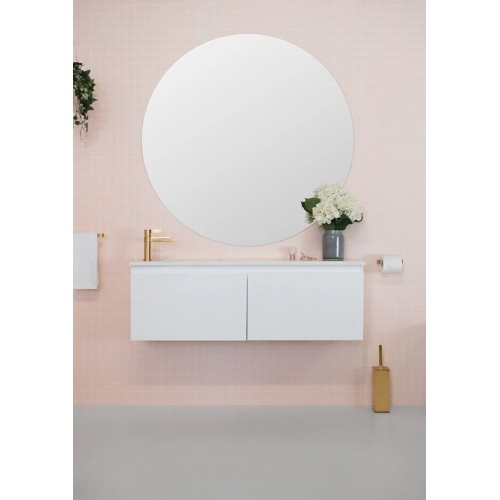 Stealth 1200mm Ensuite Offset Bowl Wall Hung Vanity
