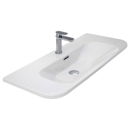 F50 Curva 900 Ceramic Wall Basin