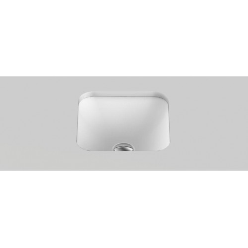 Honour Solid Surface  Undercounter Basin/Matte White