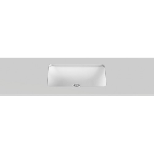 Hope Solid Surface Undercounter Basin/Gloss White