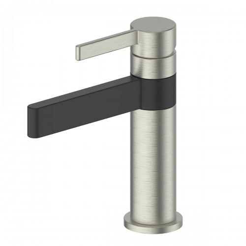 Glint Basin Mixer/Brushed Nickel/Matte Black