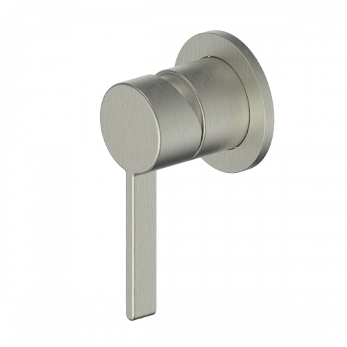 Glint Shower Bath Mixer/Brushed Nickel