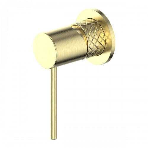 Textura Shower Bath Mixer/Brushed Brass