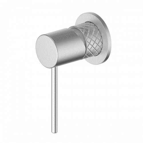 Textura Shower Bath Mixer/Brushed Stainless