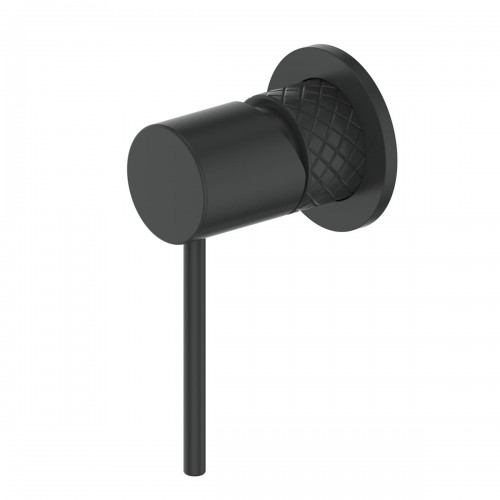 Textura Shower Bath Mixer/Matte Black