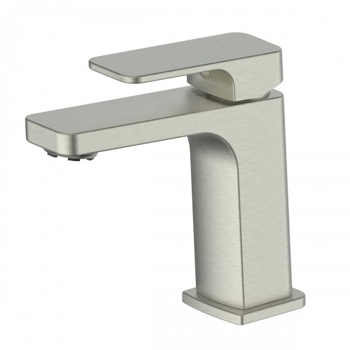 Swept Basin Mixer/Brushed Nickel