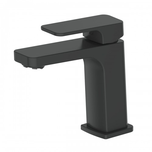 Swept Basin Mixer/Matte Black