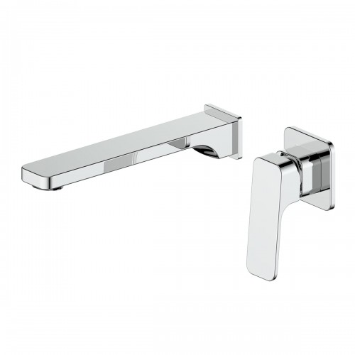 Swept Wall Basin Mixer