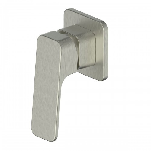 Swept Shower Mixer/Brushed Nickel
