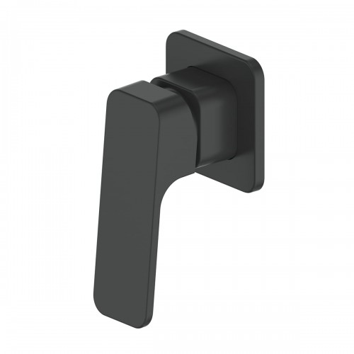Swept Shower/Bath Mixer/Matte Black