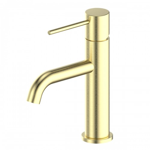 Gisele Basin Mixer/Brushed Brass