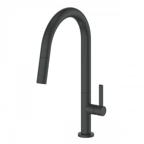 Luxe Pull-Down Sink Mixer/Matte Black