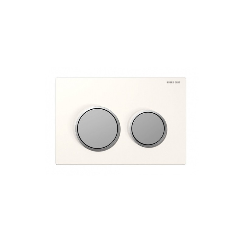 Matthew Moulding: Geberit Kappa-21-dual-flush-botton-excess-plate White