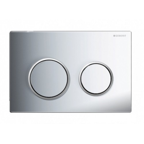 Kappa 21 Dual Flush Botton & Excess Plate/Chrome plate with matt trim