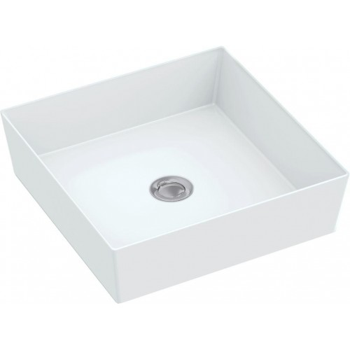 Johnson Suisse Venezia Square Counter Top Basin/No Taphole
