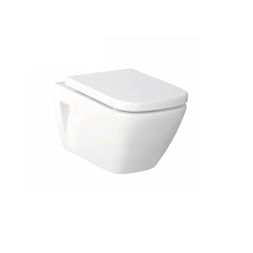 Gemeli Rimless Econoflush Wall Hung Toilet Suite