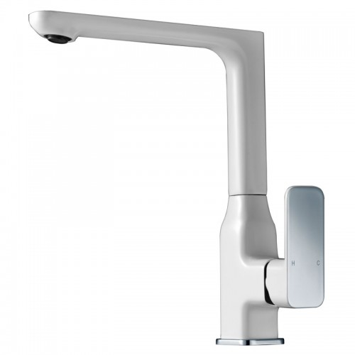 Ikon Seto Sink Mixer/White/Chrome