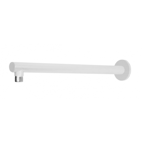 JamieJ Twilight 380mm Straight Shower Arm/Matte White