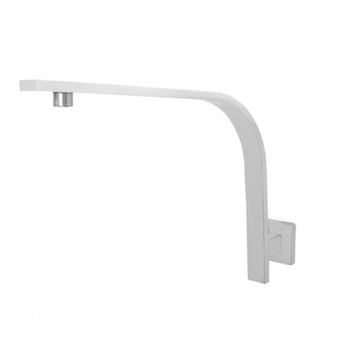 JamieJ Dusk High Rise Shower Arm/Matte White
