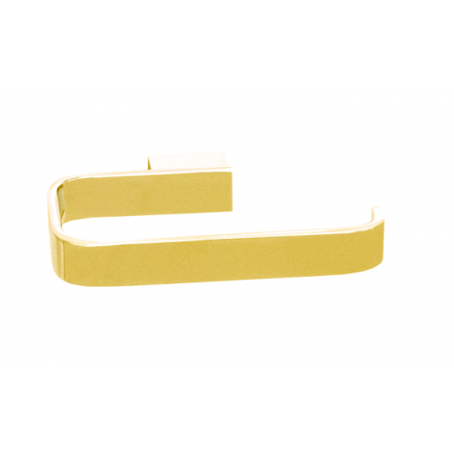 JamieJ Brooklyn Toilet Roll Holder/Polished Gold