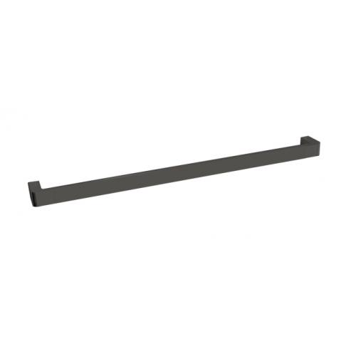 JamieJ Brooklyn Single Towel Rail 600MM/Polished Black Sapphire