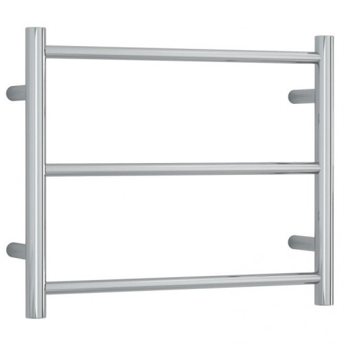 Thermorail Budget Round Heated Towel Rail 55cm x 45cm