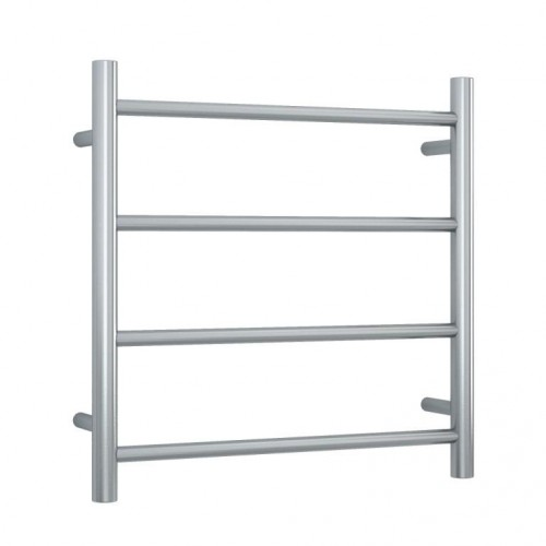 Thermorail SRB25M Heated Towel Rail/Round/Brushed/SS