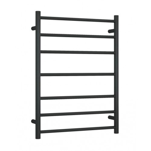 Thermorail SR44MB Heated Towel Rail/Round/Matte Black