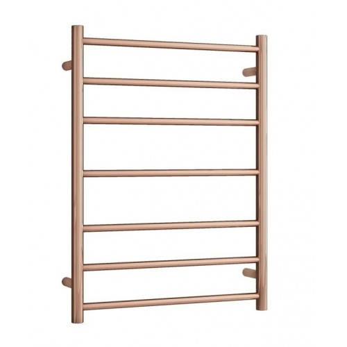 Thermorail SRB44MRG Heated Towel Rail/Round/Polished Rose Gold
