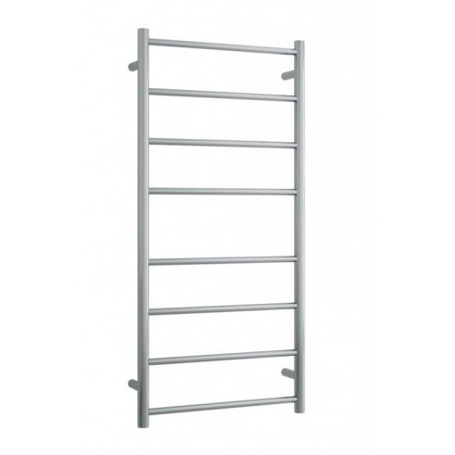 Thermorail SRB27M Heated Towel Rail/Round/Brushed Stainless