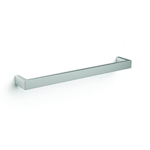Square Single Bar Heated Towel Rail/450mm