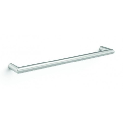 Thermorail Round Single Bar Heated Towel Rail/632mm