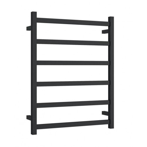 Thermorail BS48MB Heated Towel Rail/Square/Matte Black