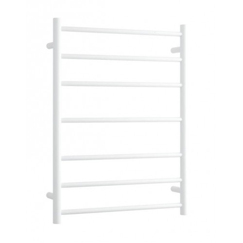 Thermorail BS44MW Heated Towel Rail/Round/Satin White