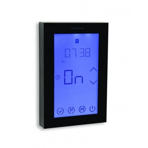 Thermorail 7 Day Touchscreen Timer/Black