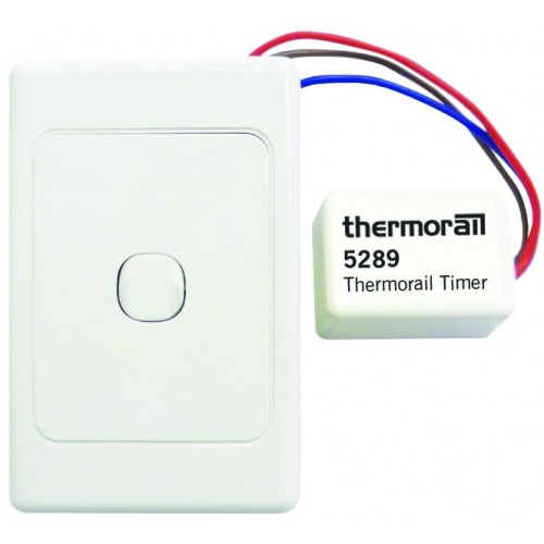 Thermorail Eco Timer/White