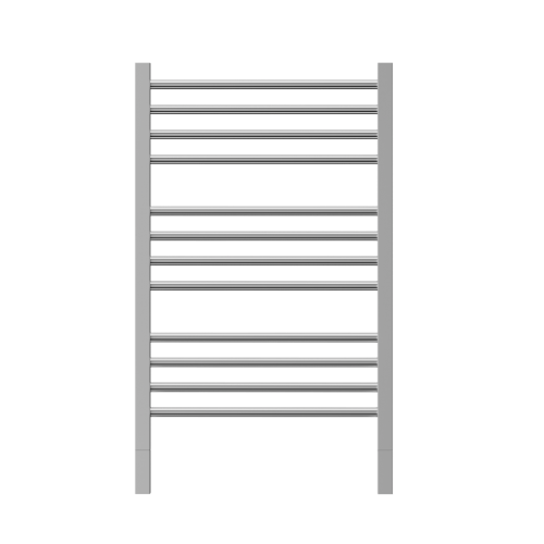 Thermorail Jeeves Brushed Ladder Heated Towel Rail