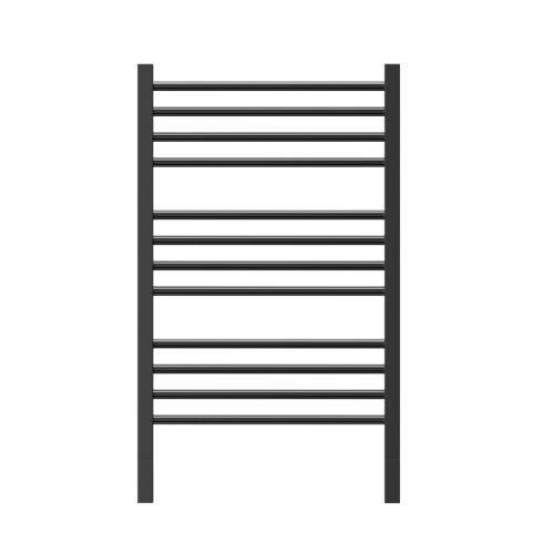 Thermorail Jeeves Matte Black Ladder Heated Towel Rail